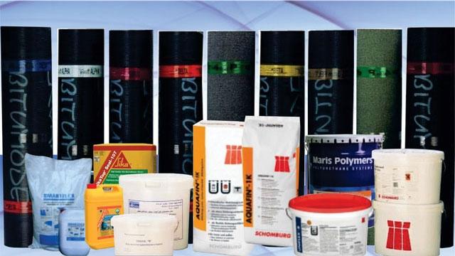 Một số vật liệu chống thấm thường sử dụng