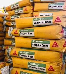Sikafloor Chapdur Green -Bột xoa nền tăng cứng Sika Hardener