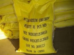 PAC - Poly Aluminium Cloride - Vàng Nghệ
